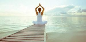 Finding happiness with yoga and meditation